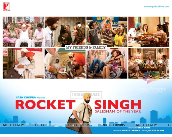 Wallpaper of the movie Rocket Singh: Salesman of the Year