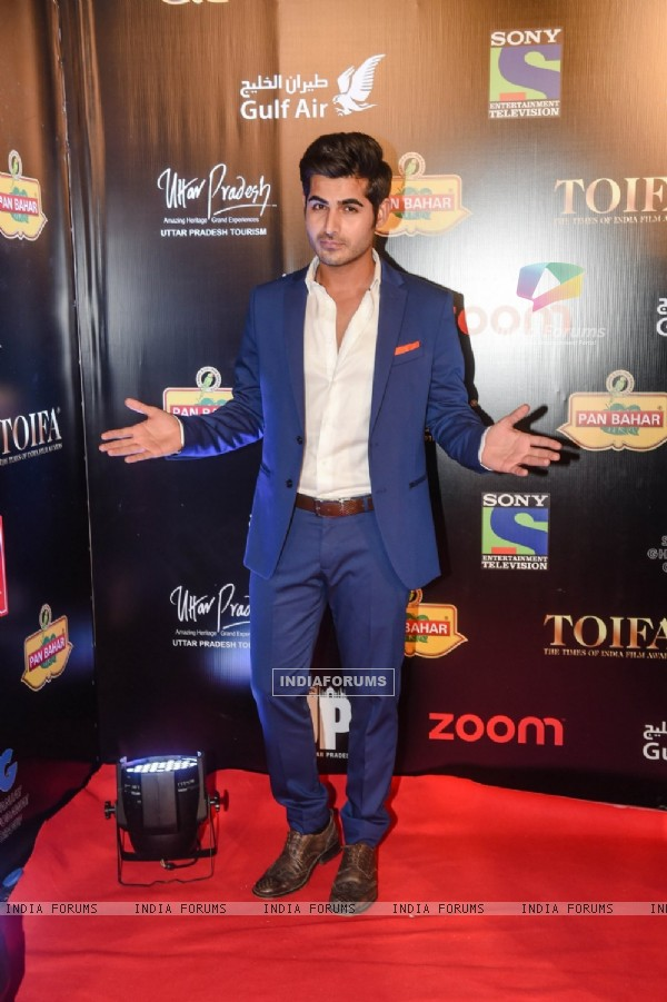 Omkar Kapoor at TOIFA 2016