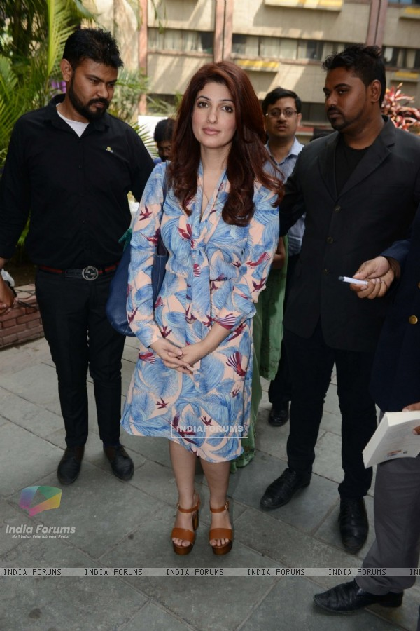Twinkle Khanna at Spring Fever in Delhi