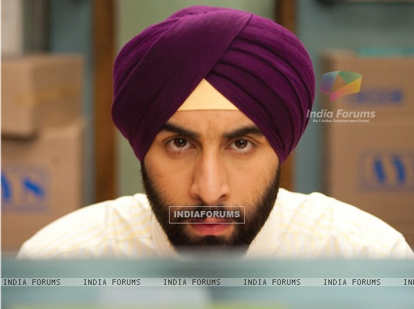 Ranbir Kapoor looking like a Sardar