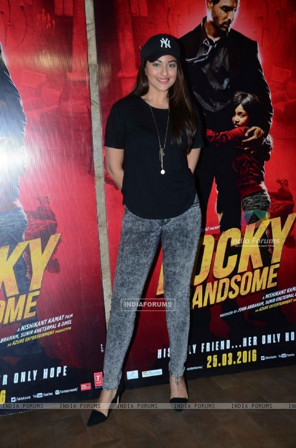 Sonakshi Sinha at Special Screening of Rocky Hansome