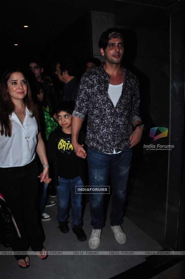 Zayed Khan at Special Screening of Batman V Superman