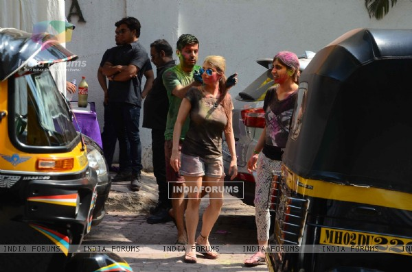 Celebs at Esha Deol's Holi Celebrations
