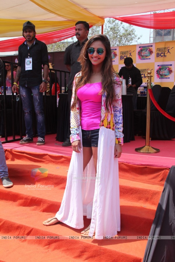 Krystlle Dsouza at BCL's Holi Celebrations
