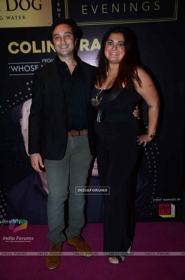Divya Palat and Aditya Hitkari at Premiere of 'Who's Line is It Anyway'