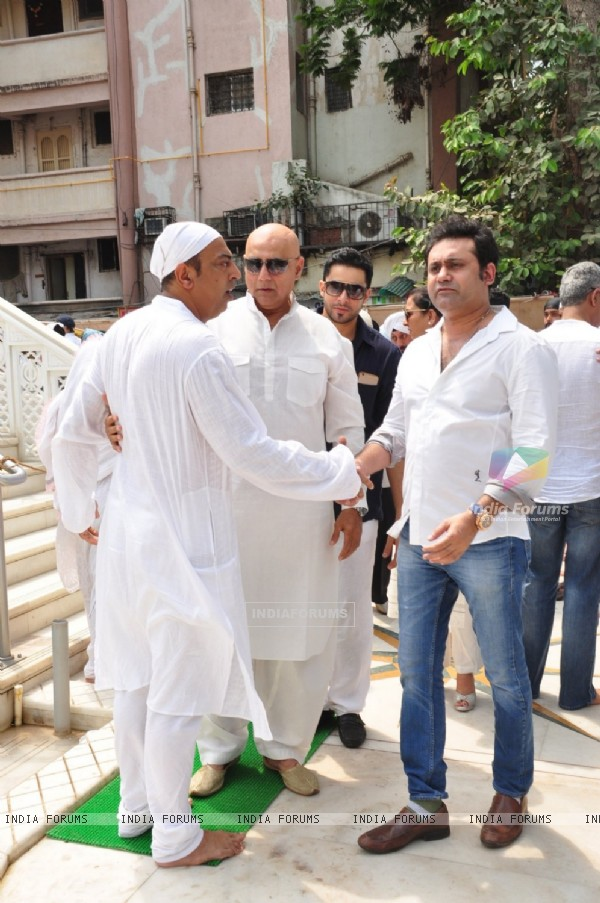 Prayer Meet of Late Dara Singh's Wife