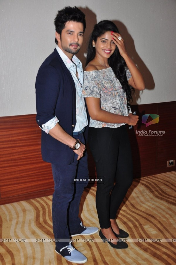 Raqesh Bapat and Pooja Sawant at Special Screening of Marathi film 'Vrundavan'