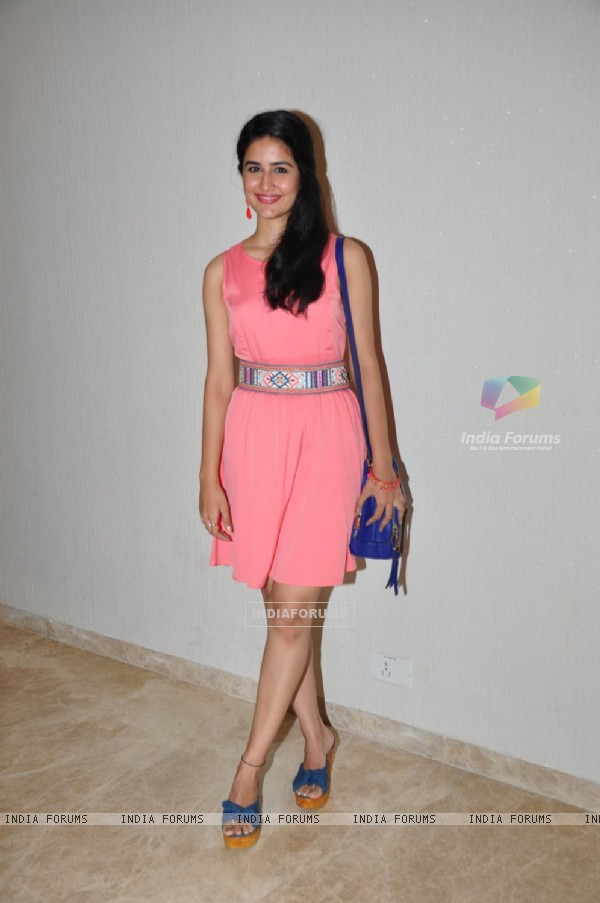 Vaidehi Parashurami at Special Screening of Marathi film 'Vrundavan'