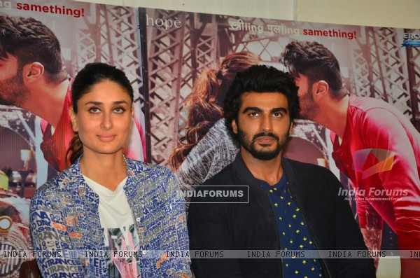Kareena Kapoor and Arjun Kapoor at Promotional Event of Ki and Ka