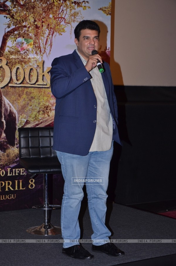 Siddharth Roy Kapur at Neel Sethi's International Tour for The Jungle Book