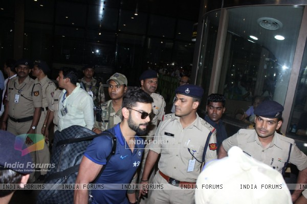 Airport Diaries: Indian Cricket team's Virat Kohli
