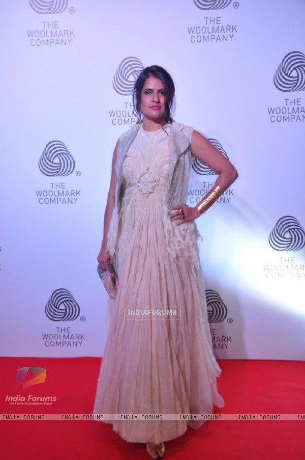 Sona Mohapatra at The 'Woolmark Company' Show