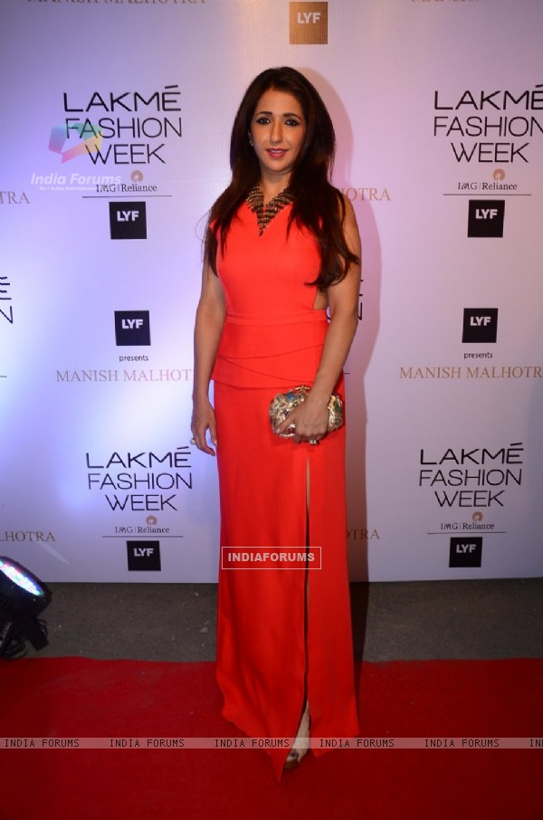 Krishika Lulla at Lakme Fashion Show 2016