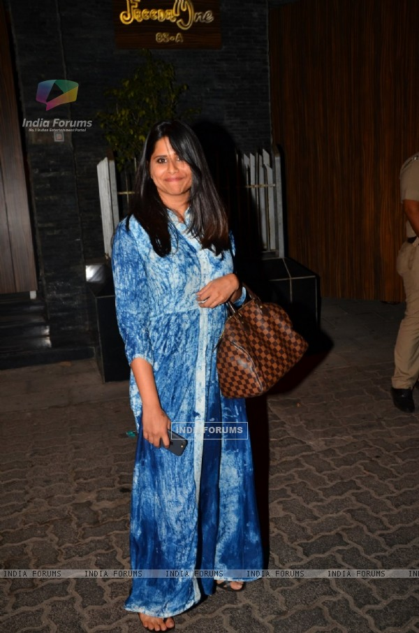 Sai Tamhankar attends a Party at Aamir Khan's Residence