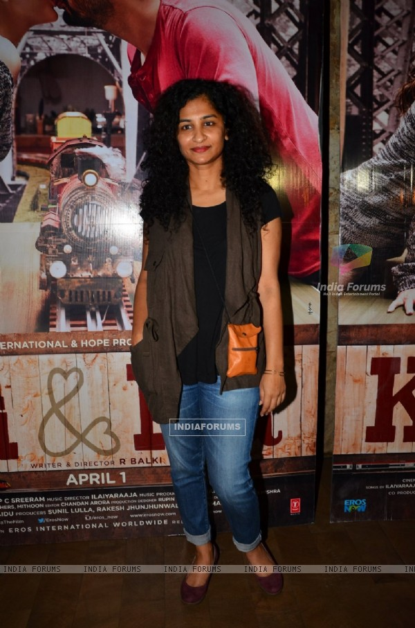 Gauri Shinde at Special Screening of 'Ki and Ka'