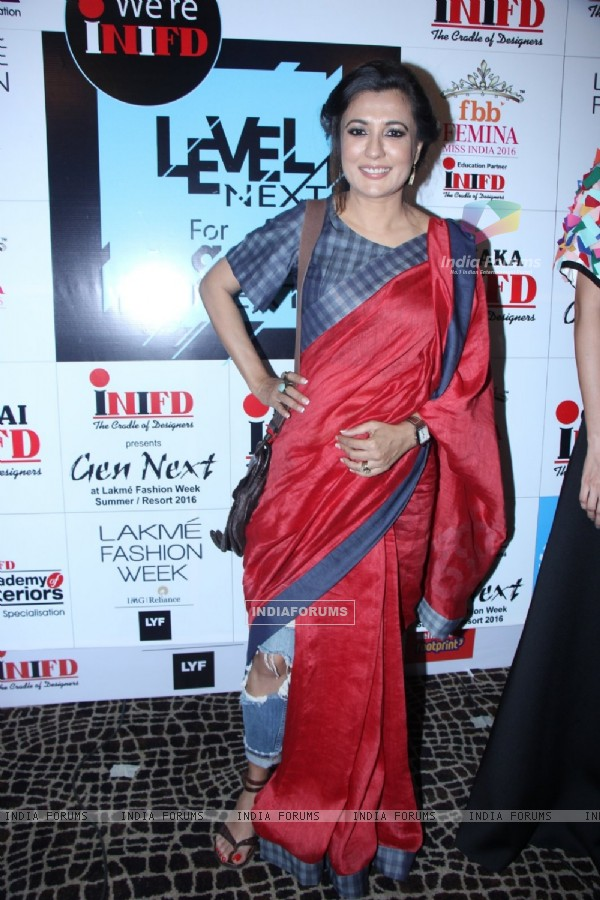 Mini Mathur at Lakme Fashion Show 2016