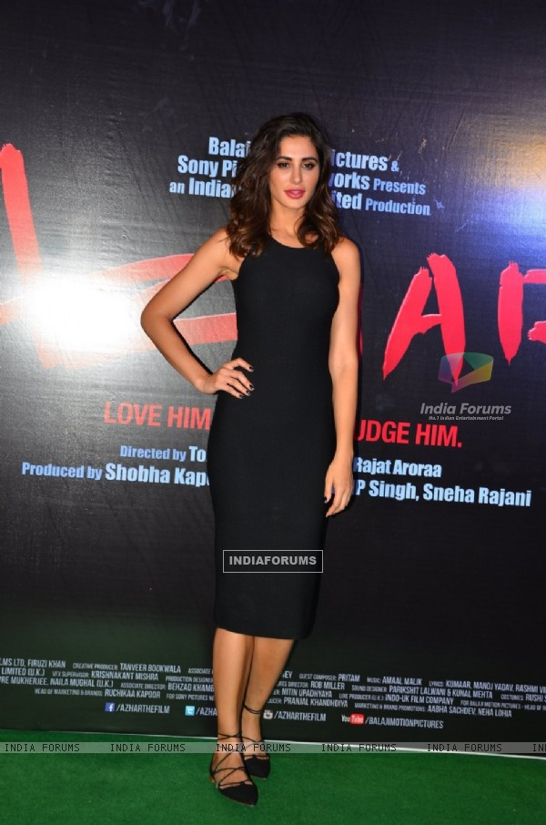 Nargis Fakhri at Azhar Trailer Launch