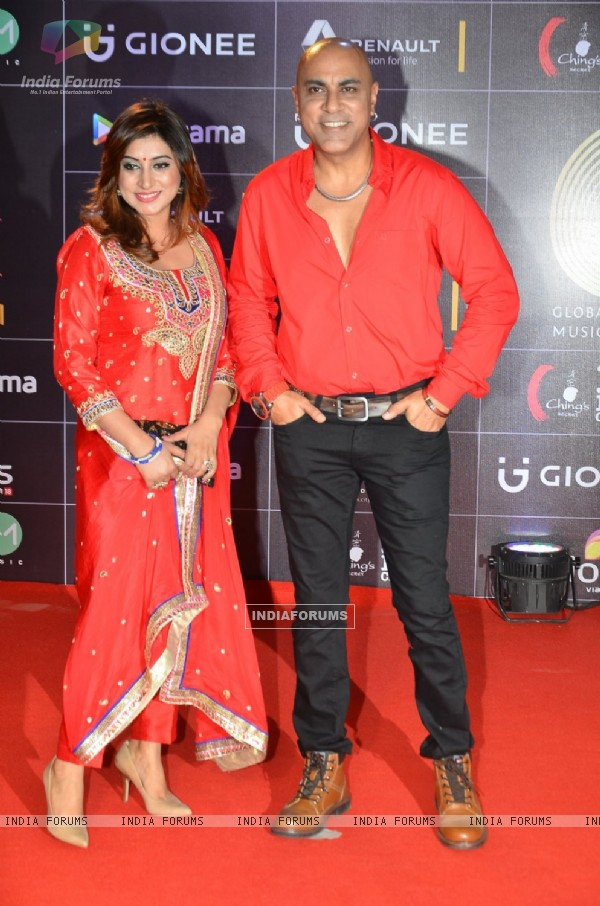Baba Sehgal at COLORS GiMA AWARDS 2016