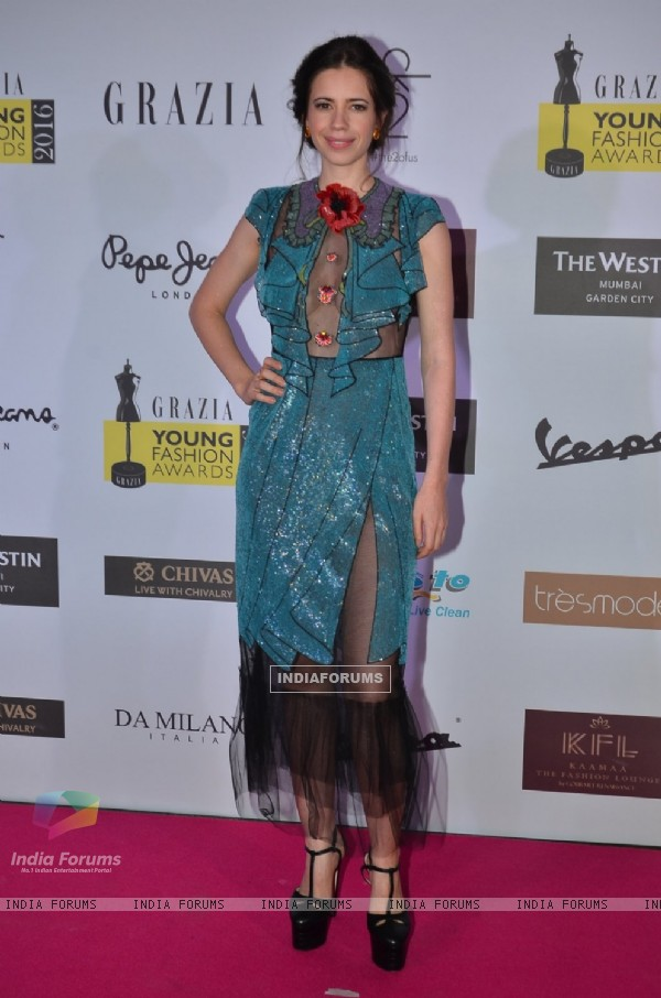 Kalki Koechlin at Grazia Young Fashion Awards