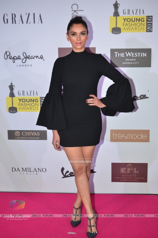 Aditi Rao Hydari at Grazia Young Fashion Awards