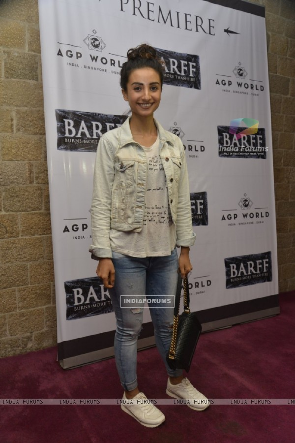 Patralekha at Saurabh Shukla's Play 'Barf'