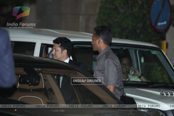 Sachin Tendulkar attend Prince William and Kate Dinner Party