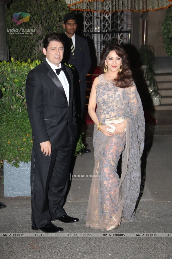 Madhuri Dixit Nene attend Prince William and Kate Dinner Party