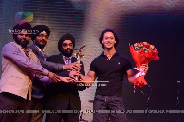 Tiger Shroff at Punjabi Icon Awards