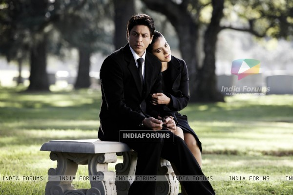 Shahrukh and Kajol in deep thought