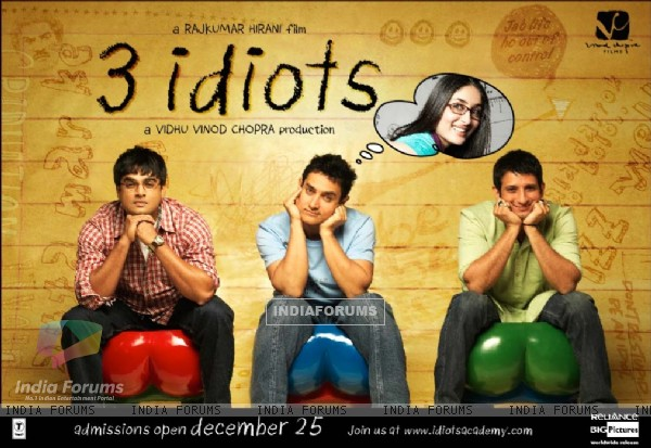 Wallpaper of the movie 3 Idiots (40300)