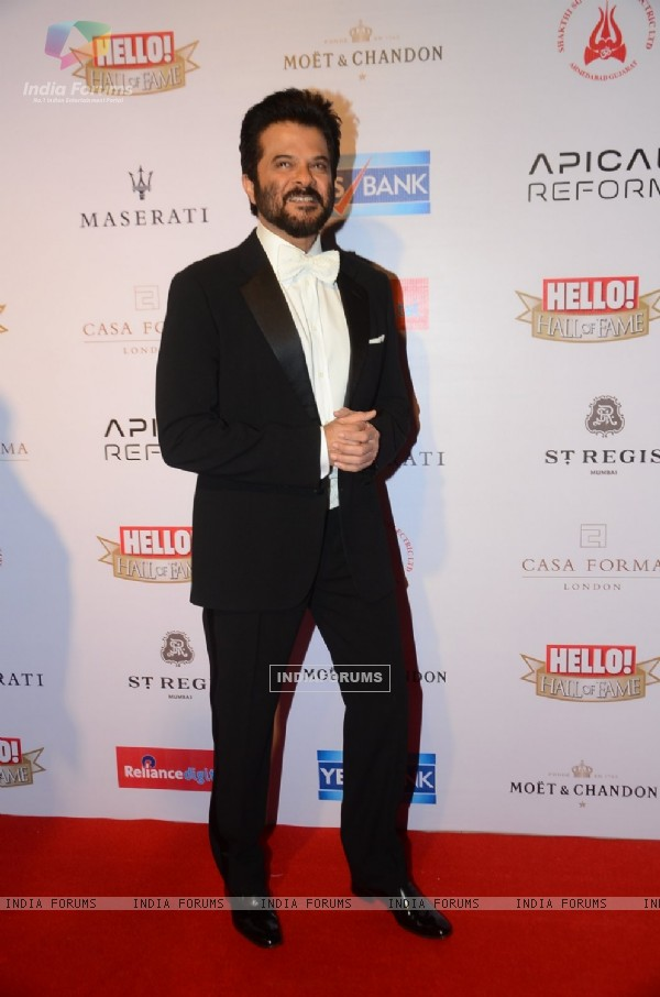 Anil Kapoor at 'Hello! Hall of Fame' Awards
