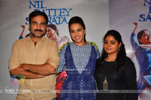 Celebs at Promotions of 'Nil Battey Sannata'