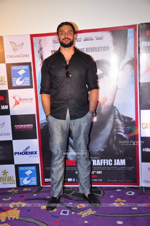 Actor Arunoday Singh at the Promotions of 'Buddha in a Traffic Jam'