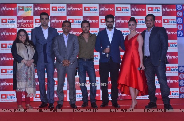Cyrus Sahukar, Raghav Sachar and Siddharth Mahadevan at Launch of 'HDFC Life Young Stars