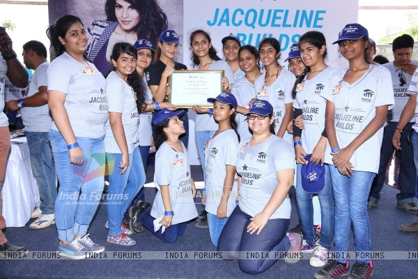 Jacqueline Fernandes at Jacqueline Builds Event