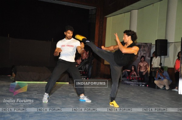 Tiger Shroff at Promotional Event of 'Baaghi'