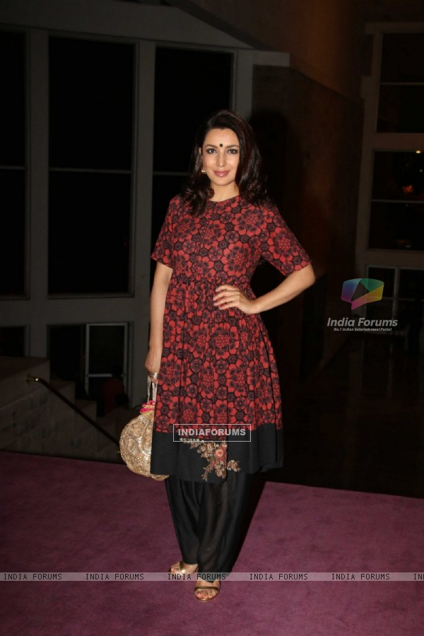 Tisca Chopra at Laadli Awards 2016