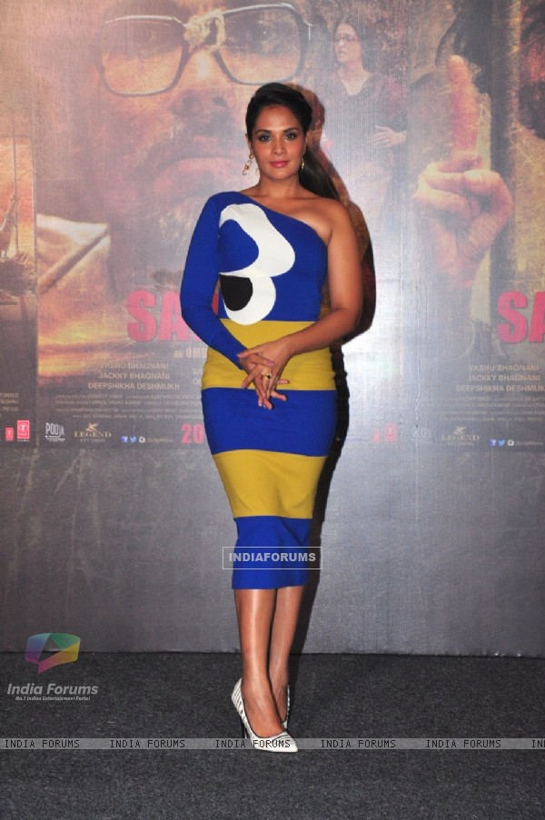 Richa Chadda at Trailer Launch of 'Sarabjit'