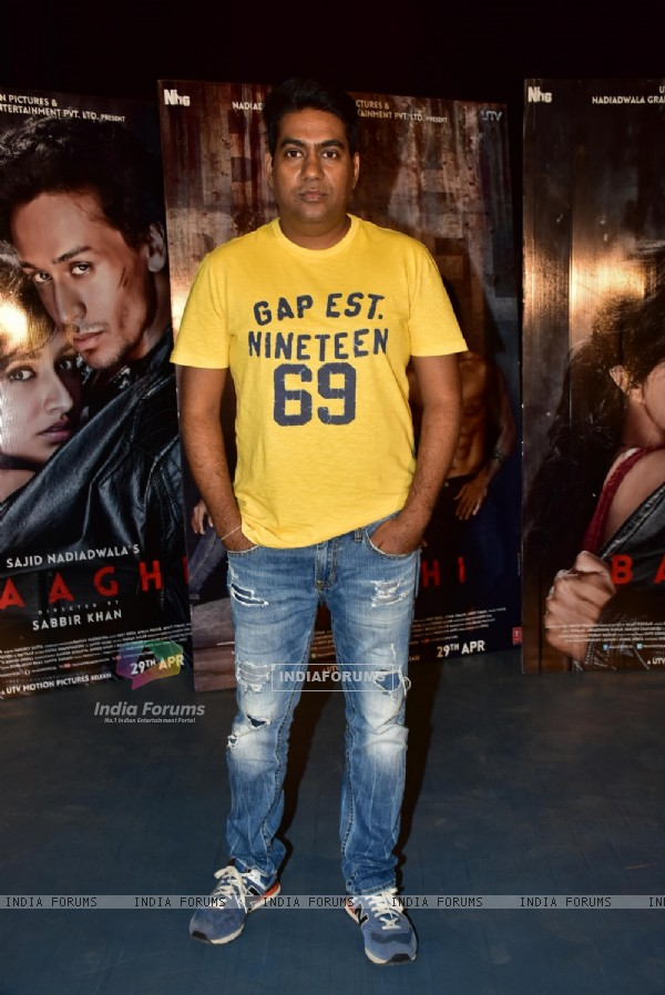 Sabbir Khan at Promotional event of Baaghi