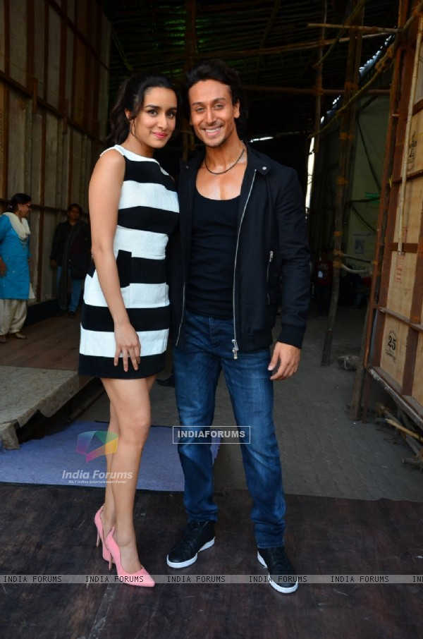 Tiger Shroff and Shraddha Kapoor Snapped