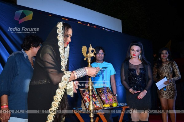 Rakhi Sawant at Muhurat of film Upeksha