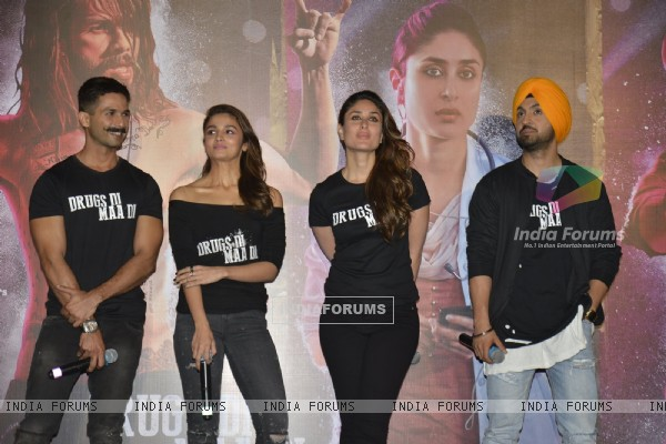 Celebs at Trailer Launch of Udta Punjab