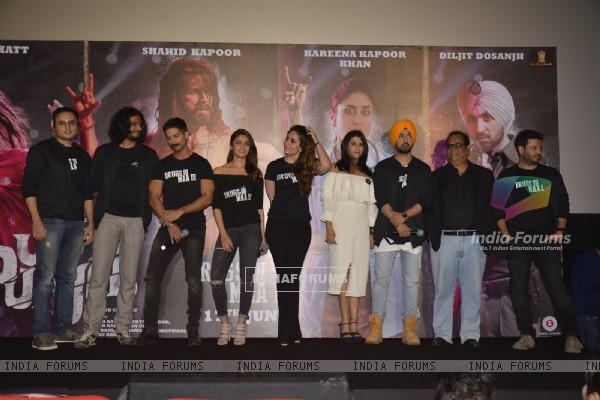 Celebs at Trailer Lauch of Udta Punjab