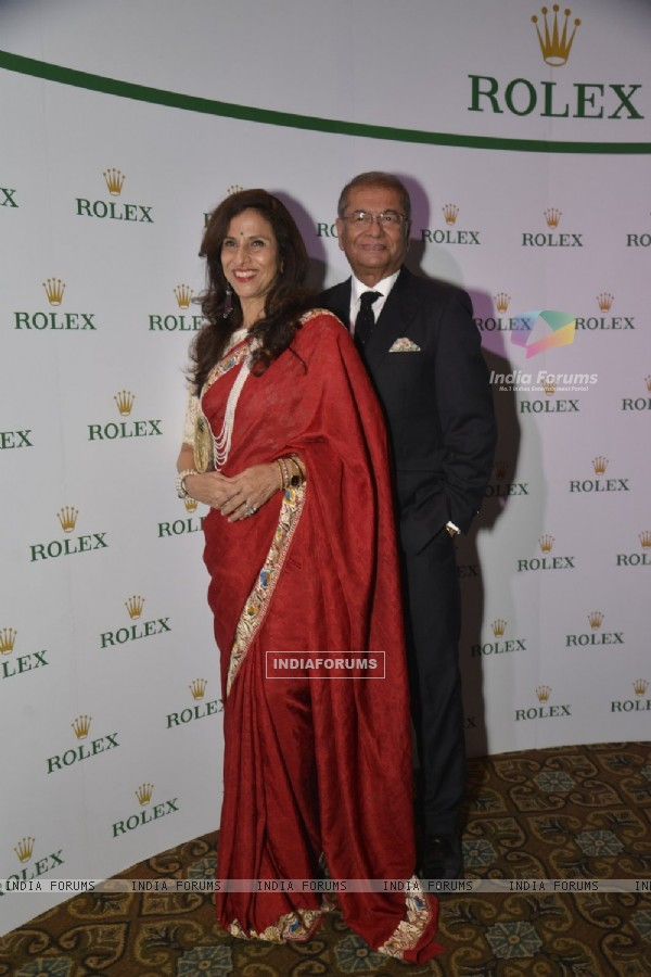 Shobha De at Zubin Mehta's Dinner Party Hosted by Rolex