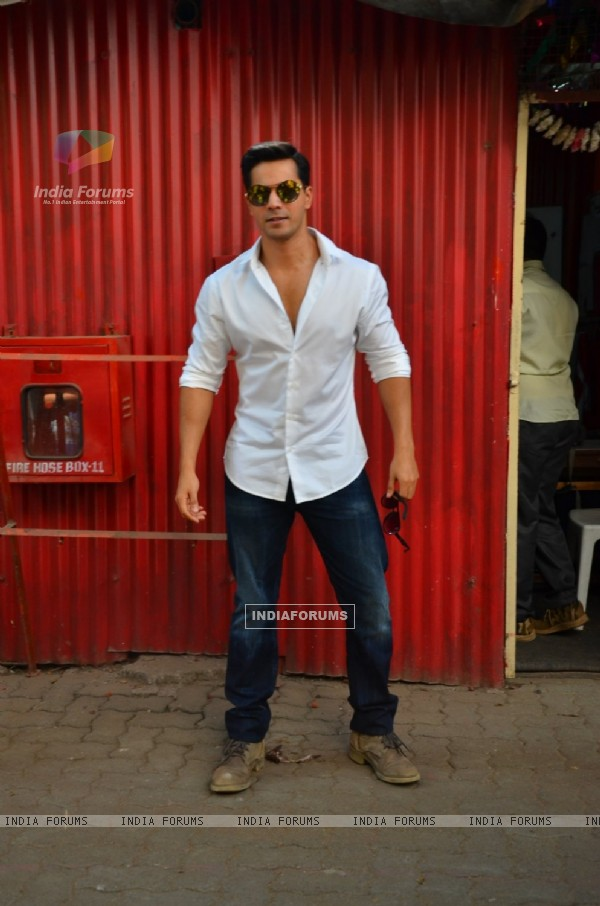 Varun Dhawan at Wrap Shoot of Dhishoom