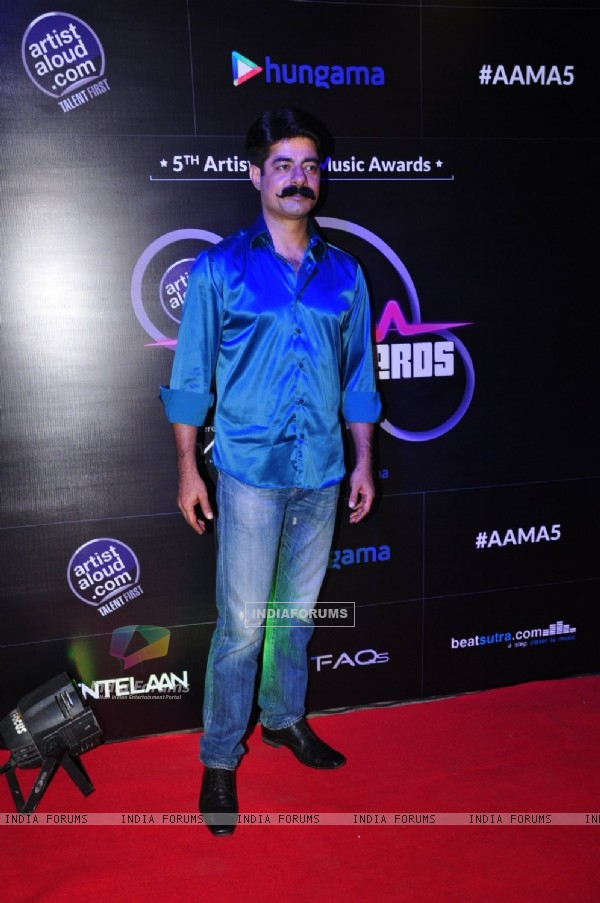 Sushant Singh at Artist Aloud Music Awards