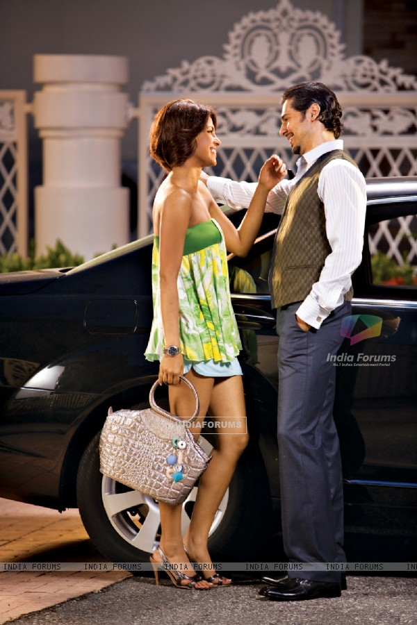 Priyanka Chopra with Dino Morea