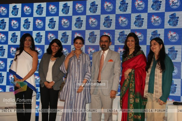 Sonali Bendre and Mini Mathur at Surf Excel Promotions