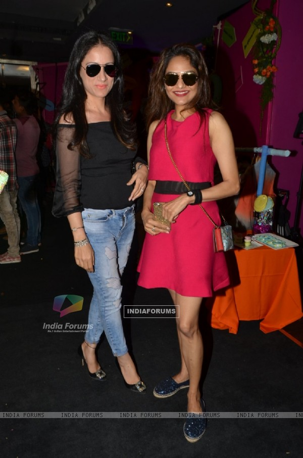 Actress Poonam Dhillon at Maheka Mirpuri's Summer Collection Mirpuri's Preview
