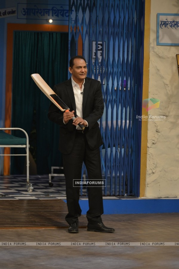 M. Azharuddin for Promotions of 'Azhar' on 'The Kapil Sharma Show'